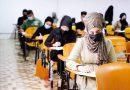 جانب من أداء الامتحانات الحضورية للمواد الدراسية النظرية والعملية