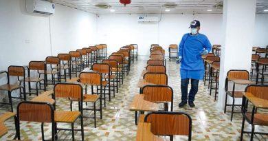 -إكمال جميع التحضيرات للامتحانات الحضورية النهائية للعام الدراسي 2020 /2021